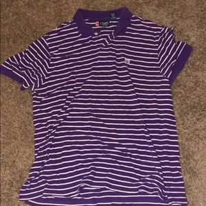 Men's Chaps Purple Polo